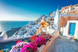 GRČIJA - otok Santorini