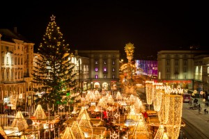 Adventni Linz in Božičkova pošta v Christkindlu