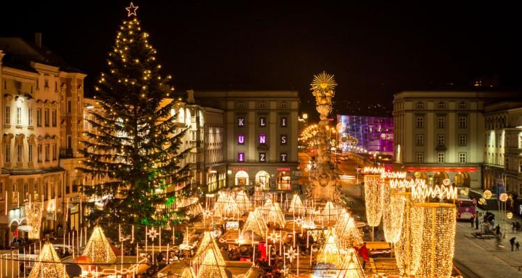 Adventni Linz in Božičkova pošta v Christkindlu
