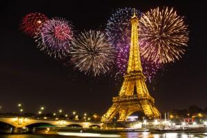 SILVESTEROVANJE V PARIZU
