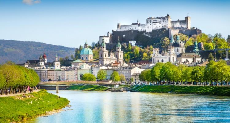 SALZBURG IN SOLNI RUDNIK Avstrija