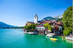 Romantična pokrajina Salzkammergut