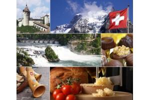 ŠVICA - MOGOČNE ŠVICARSKE ALPE Švica