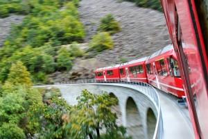 Z vlakom BERNINA EXPRESS iz Švice v Italijo - ODHODI 20.08. IN 10.09.