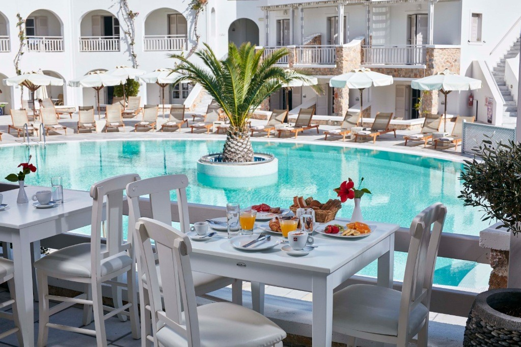 Aegean Plaza Hotel 4*, Kamari