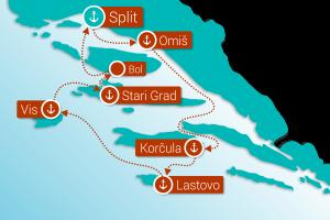 Med otoki Dalmacije (KL3)