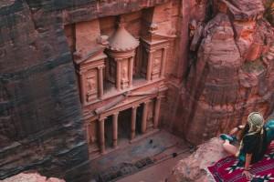 Jordanija-mistična Petra-Wadi Rum in mrtvo morje