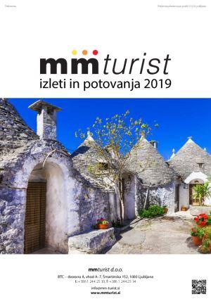 Katalog izleti in potovanja 2019 - mm turist